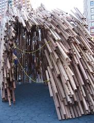 (mbeletsky) Tags: nyc unionsquare sukkot sukkah tabernacles jewishholidays sukkahcity