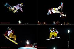 2012 Burton Canadian Open (Ian Harding Photography) Tags: park winter canada motion sports night ian snowboarding photography high jumping open action air canadian snowboard halfpipe trick olympic athlete harding burton 2012