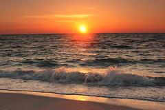 Cayo Costa Sunset (cedarkayak) Tags: statepark sunset beach gulfofmexico island florida shoreline backpacking wilderness cayocosta