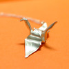 Crane Origami Necklace