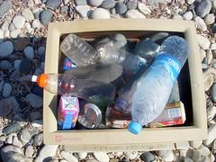 monitor bin (-Filippos-) Tags: bottles cyprus bin monitor litter rubbish kypros  kipros