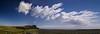 'Cloud street' forming down-wind of Fair Isle (dawadderman) Tags: clouds fairisle cloudscape cumulusmediocris cloudstreet cumulushumilis anticyclonic hydrometeors