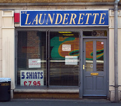 Launderette, Pitfield Street N1 (Emily Webber) Tags: london shops hackney launderette n1 pitfieldstreet shopfronts londnshopfronts