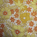 Orange/yellow vintage  pillowcases - Dorma