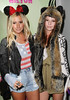 Ashley Tisdale, Samantha Droke Perez Hilton's Mad Hatter Tea Party Birthday Celebration held at Siren Studios Hollywood, California