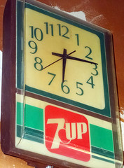 7UP Clock (Photo Nut 2011) Tags: clock time 7up