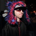 """Blue and red fluff hat @MalLabel Ritual Psymbionic Release • <a style=""""font-size:0.8em;"""" href=""""http://www.flickr.com/photos/32644170@N08/7137907825/"""" target=""""_blank"""">View on Flickr</a>"""