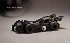 Lego Mini Batmobile (_Tiler) Tags: lego mini batman dccomics batmobile batmanforever legobatmobile legominibatmobile