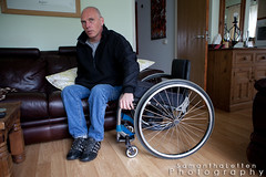 Karl Dicks - Paraplegic Gentleman. (Samantha Letten) Tags: touch devon paraplegic paralysis honiton paralysed paralysedman