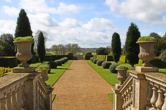 Ickworth House south view from Rotunda (FlyingV99) Tags: park trees music house lake clock church monument kitchen st garden vineyard library room workshop dining rotunda summerhouse ovens ickworth national trust quarters bury edmunds servants