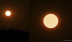 Venus Transit (Sean Sebastian) Tags: sunset sun lake photography evening eclipse nikon venus zoom outdoor kentucky 300mm astrophotography transit planets dslr nolin d7000