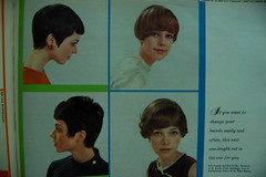 Hairdo of 1967 (<Vicky's Flicks>) Tags: fashion vintage 60s retro 1967 1960s magazines sixties seventeen