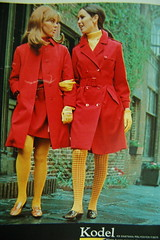 Cool rain outfits (<Vicky's Flicks>) Tags: fashion vintage 60s retro 1967 1960s magazines sixties seventeen