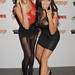 Heidi Shepherd and Carla Harvey, The Metal Hammer Golden Gods Awards at indigO2 London, England