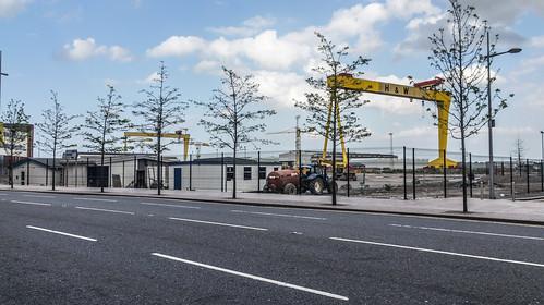 Samson and Goliath - Titanic Quarter In Belfast