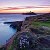 Godrevy Sunset (Martin Mattocks (mjm383)) Tags: longexposure sunset sky lighthouse seascape clouds canon square thrift godrevy canoneos5dmarkii cornwalllandscapes mjm383 martinmattocksphotography
