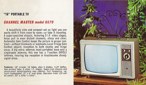 CHANNEL MASTER Radio, Television, Tape Recorder, Walkie Talkie and Interphone Brochure (USA 1961)_05