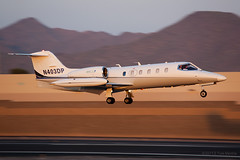 Learjet 35 'N403DP' (Tom_Morris Photos) Tags: gates jet 35 learjet bizjet scottsdaleairport sdl ksdl n403dp
