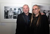 U2 Manager Paul McGuinness officially opened the photography exhibition U2:1978