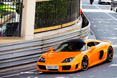Noble M600 (Reivax Autos) Tags: orange white black canon top casino monaco explore marques supercar noble v12 50d m600 hypercar