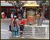 Tibeti Prayer Wheel at Recong Peo Bus Stand (Indianature4) Tags: india mountains hp april himachal himalayas 2012 himachalpradesh kinnaur peo indianature recongpeo snonymous himachalkinnaur himachalkalpa