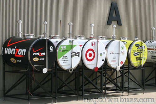 """Indy 500 Opening Day: Garages • <a style=""""font-size:0.8em;"""" href=""""http://www.flickr.com/photos/78612590@N05/7212941422/""""  on Flickr</a>"""