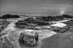Lurid expanse (Marco rockheavyloud) Tags: sunset pordosol sea praia beach portugal gaia