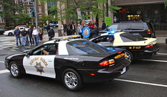 California Highway Patrol & Florida Highway Patrol (10-42Adam) Tags: california classic chevrolet car cops florida 911 historic parade camaro chevy cop chp emergency officer 2012 officers highwaypatrol nationalpoliceweek policeweek fhp californiahighwaypatrol floridahighwaypatrol policecamaro