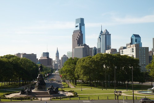 Philadelphia Skyline by Rob Shenk, on Flickr