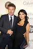 Alec Baldwin and fiancee Hilaria Thomas attend a Calvin Klein party during the 65th Cannes Film Festival Cannes, France