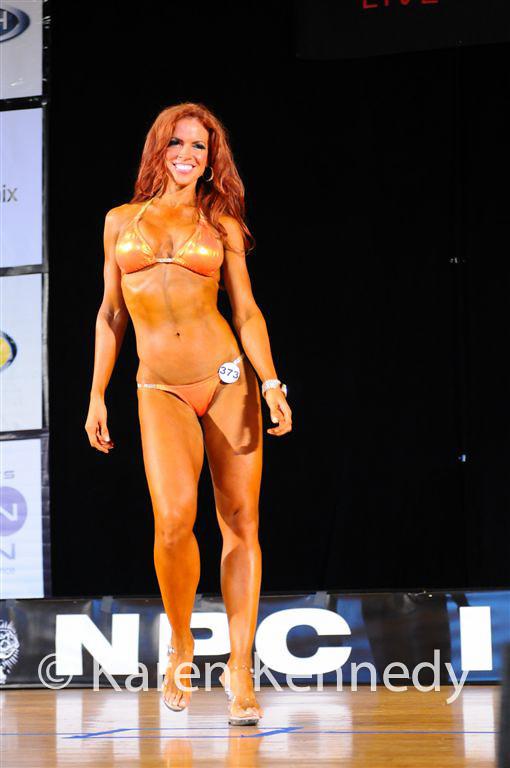 Redhead bikini competition