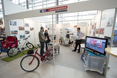 Demonstrations at the CycleLogistics stand
