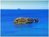 Azul marino, azul mediterráneo. (Luis Mª) Tags: mar spain murcia cabodepalos mediterráneo afiiae isloteconpuente