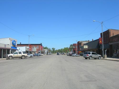 Downtown De Smet, South Dakota