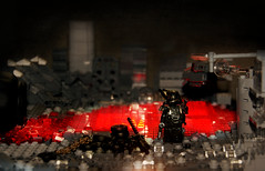 'Wastelands' -The Purge- FP ([Stijn Oom]) Tags: water soldier lava darkness lego explorer scout explore legos sight heavy effect troop purge explored