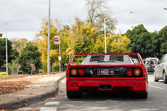 Blend In (Tom | Fraser) Tags: car tom club australia melbourne ferrari fraser gil sick rosso registration f40 f40s tomfraser f40sinaustralia f40inaustralia