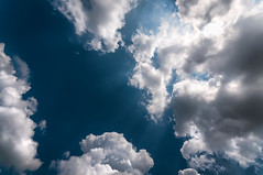 zenith (Sky Noir) Tags: blue light sky usa sun sunlight white up sunshine clouds photography grey us unitedstatesofamerica noon heavens overhead hdr zenith deepblue skynoir