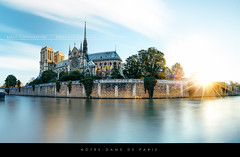 Notre-Dame de Paris sunrise (Beboy_photographies) Tags: panorama paris france seine sunrise de pano panoramic notredame cathdrale notre dame glise hdr notredamedeparis matin fleuve