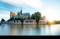 Notre-Dame de Paris sunrise (Beboy_photographies) Tags: panorama paris france seine sunrise de pano panoramic notredame cathédrale notre dame église hdr notredamedeparis matin fleuve