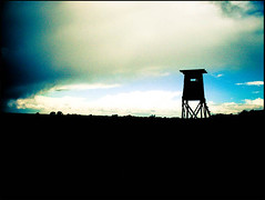 20120516_040 (sulamith.sallmann) Tags: nature silhouette germany landscape outside deutschland evening abend countryside europa natur dmmerung landschaft deu landschaften mecklenburgvorpommern abenddmmerung hochstand abendlich schattenriss tagesende sulamithsallmann