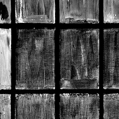 Bw window geometry (zeze57) Tags: blackandwhite bw abandoned window glass lines geometry decay dirt tanner wp sq tanning oisterwijk urbex leatherfactory squareshot leerfabriek aglitchinthesystemanabstractviewofdailylife zeze57