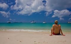 Whitsundays (Stahlinho) Tags: ocean sea sky beach water strand landscape meer wasser himmel australia landschaft 550d