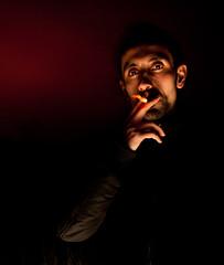1x-9343 (Sebastian Rosca) Tags: light boy portrait night sebastian flash smoking clar blitz constanta obscur rosca noapte potret tulcea dobrogea baiat tigara