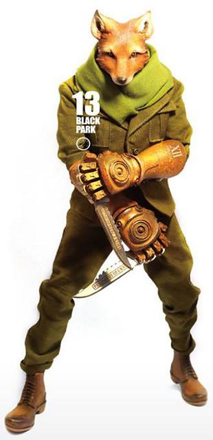 【預購資訊公開】12吋新銳廠商Black 13 Park 推出震撼新作第二彈<TOWE>