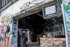Gift Shop (darkday.) Tags: urban brick abandoned danger dark fire dangerous decay extreme entrance australia brisbane drain explore urbanexploration qld queensland exploration milf ue urbex abando skatearena easyentry