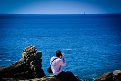 DSC_0117 (FlipperOo) Tags: voyage sea mer france color st rock port de nikon pierre vagues plage morbihan blanc roche arche quiberon instagramapp