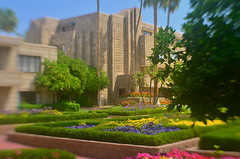The Arizona Biltmore (Garden Wing) (MPnormaleye) Tags: flowers texture beautiful lensbaby 35mm garden hotel bokeh resort utata wright biltmore hedges utata:project=tw524