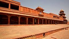 Fatehpur Sikri Palace 114 (David OMalley) Tags: india muslim islam agra palace mosque pilgrimage akbar masjid allah islamic pradesh fatehpur sikri muhammed uttar jama darwaza buland sikari vijaypur