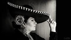 Charrera Mexicana (Elizabeth Padilla) Tags: pentax retrato selfportraits autorretrato pentaxk5 cursoencandilarte