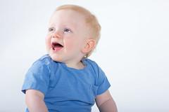 Noah - One year on (Elliott - Photography) Tags: family portrait baby canon studio 50mm f14 flash setup